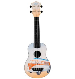 Flight Travel bus sopraan ukelele
