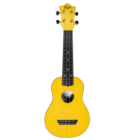 Flight Travel yellow soprano ukulele