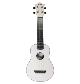Flight Travel white soprano ukulele