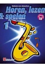 de haske Horen, lezen & spelen methode voor altsaxofoon 1