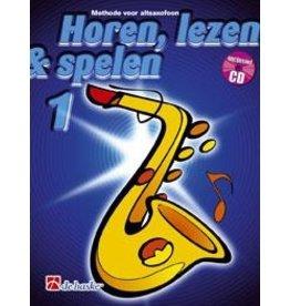 de haske Horen, lezen & spelen altsaxofoon 1