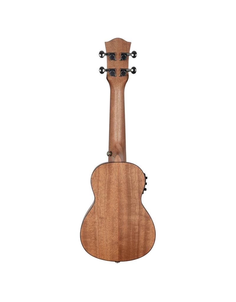 Cascha HH2026E Mahonie akoestisch/elektrisch sopraan ukelele bundel