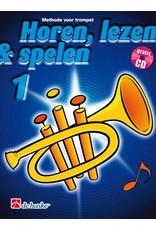 de haske Horen, lezen & spelen methode voor trompet 1