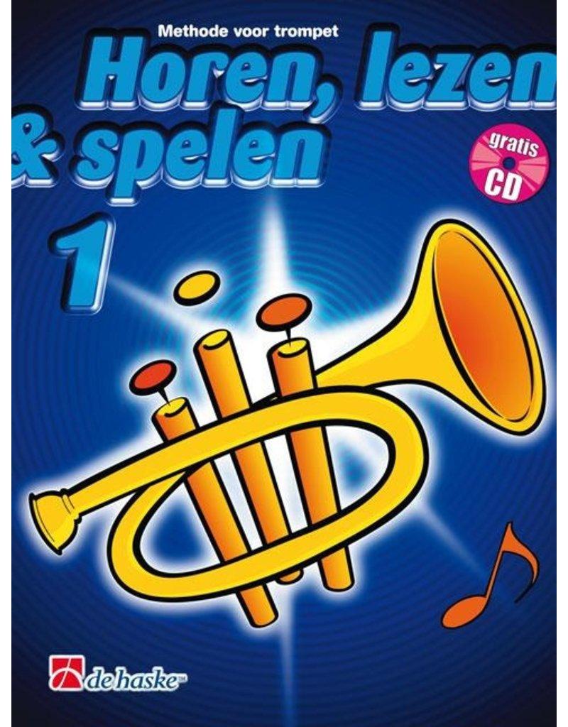 de haske Hear, Read & Play method for trumpet 1