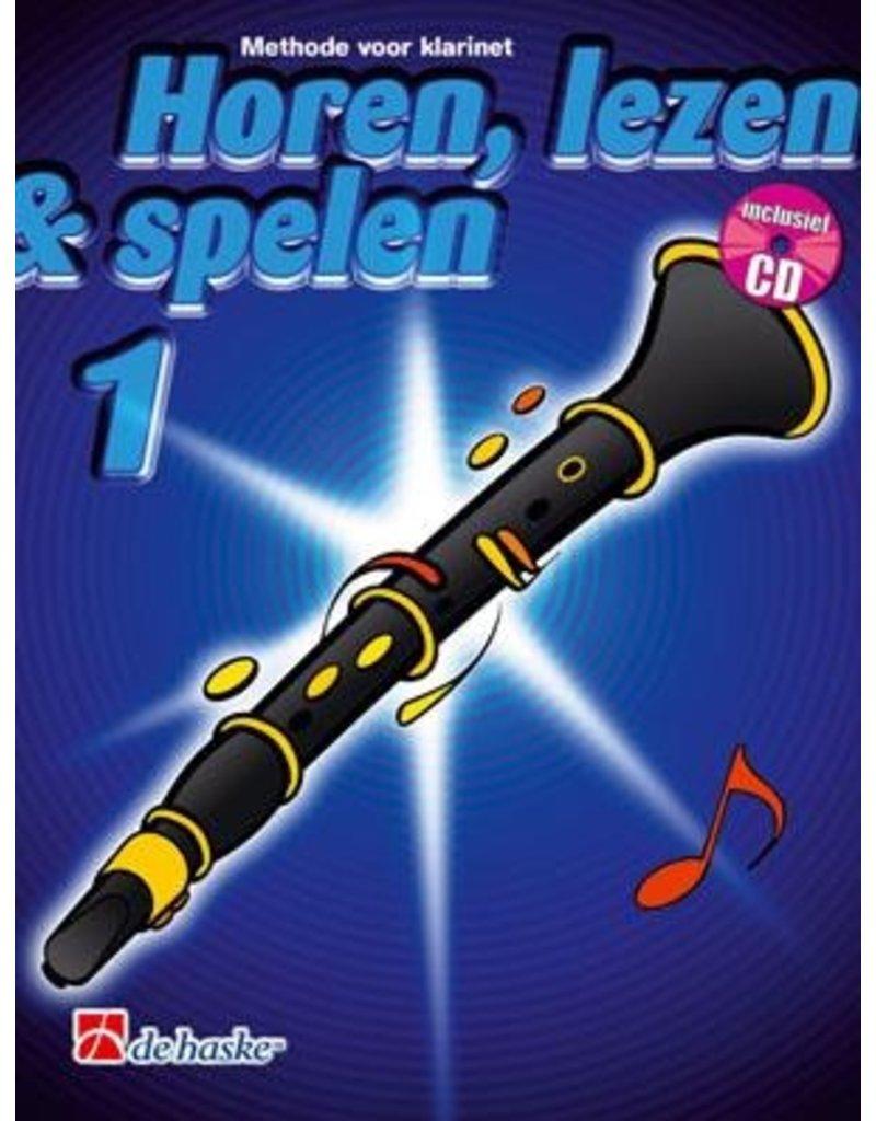 de haske Horen, lezen & spelen methode voor klarinet 1