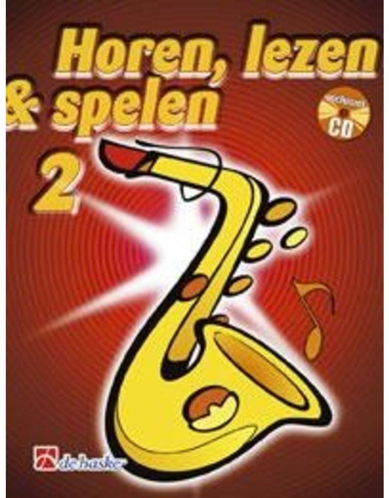 de haske Horen, lezen & spelen methode voor altsaxofoon 2