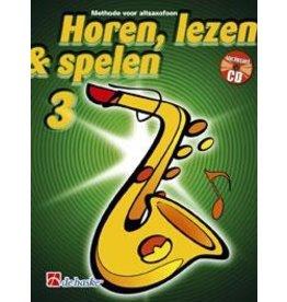de haske Horen, lezen & spelen altsaxofoon 3