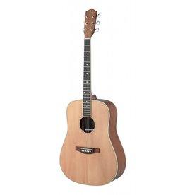 J.N. Guitars ASY-D LH Linkshandige akoestische gitaar