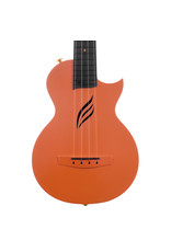 Cascha HH2289 Carbon fibre orange concert ukulele