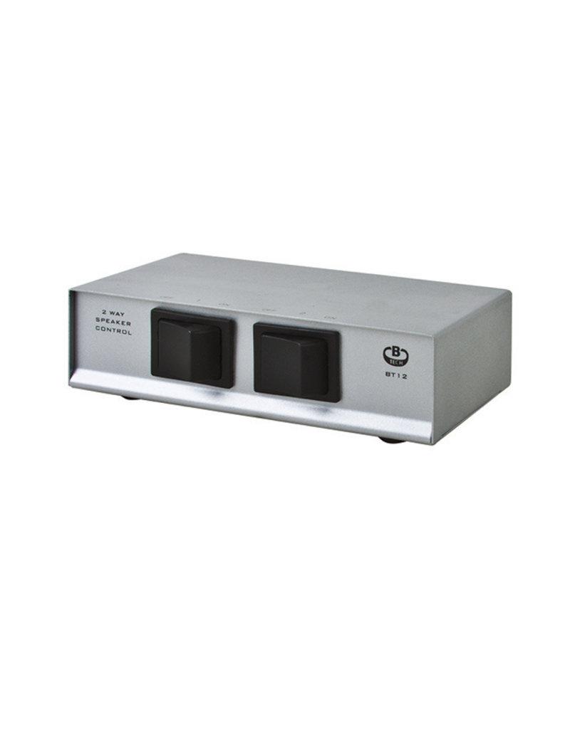 B-Tech BT12 2-Weg speaker keuze schakelaar