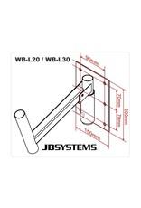 JB Systems WB-L30 Luidspreker muurbeugel