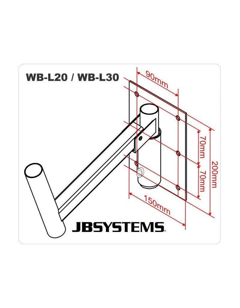 JB Systems WB-L20 Luidspreker muurbeugel