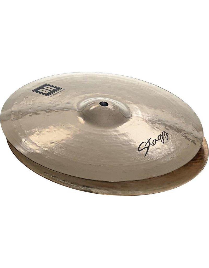 Stagg DH-HM14B brilliant medium hi-hat cymbals