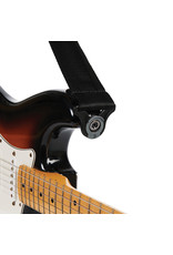 D'addario Auto Lock nylon guitar strap black