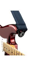 D'addario Auto Lock nylon gitaar riem blauw