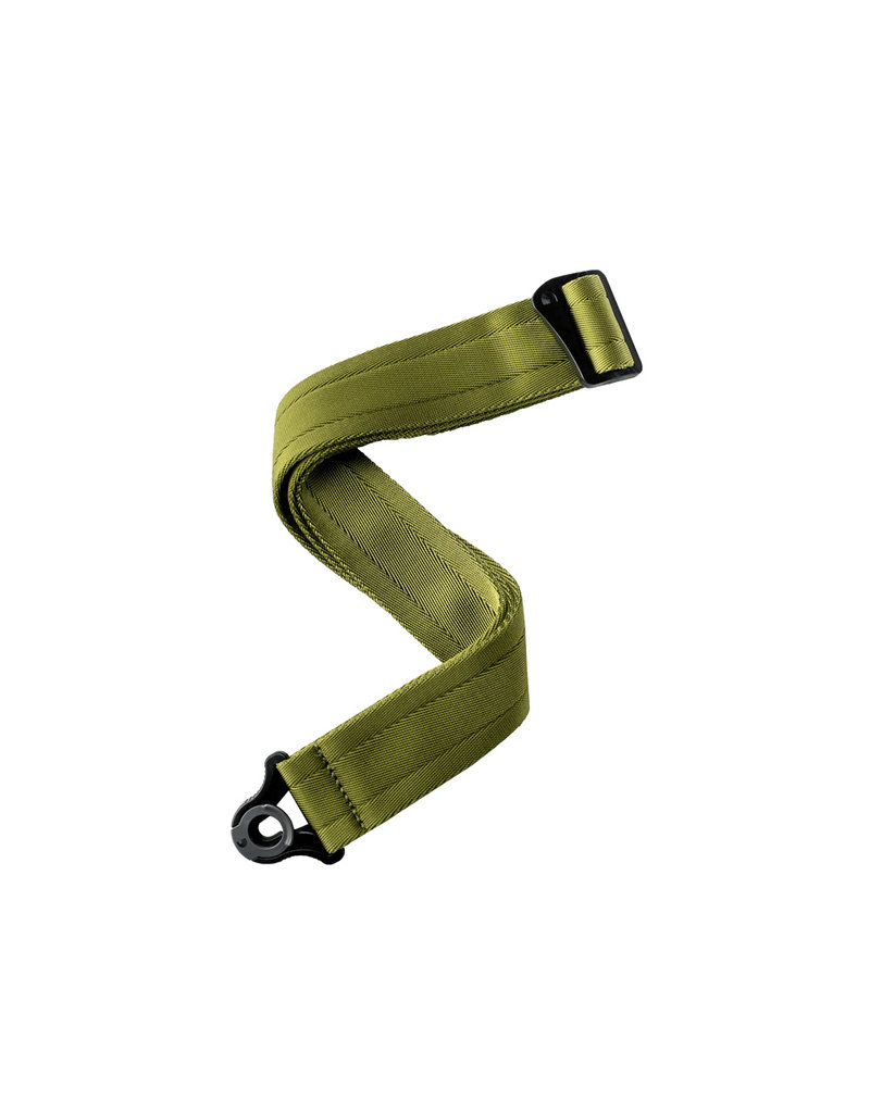 D'addario Auto Lock nylon gitaar riem groen