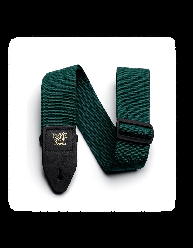 Ernie Ball 4052 Polypro guitar strap forrest green