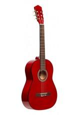 Stagg SCL50 3/4 RED Klassiek gitaar rood