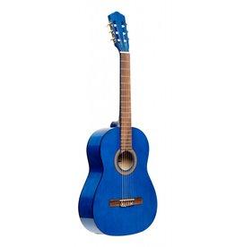 Stagg 1/2 klassiek gitaar blauw
