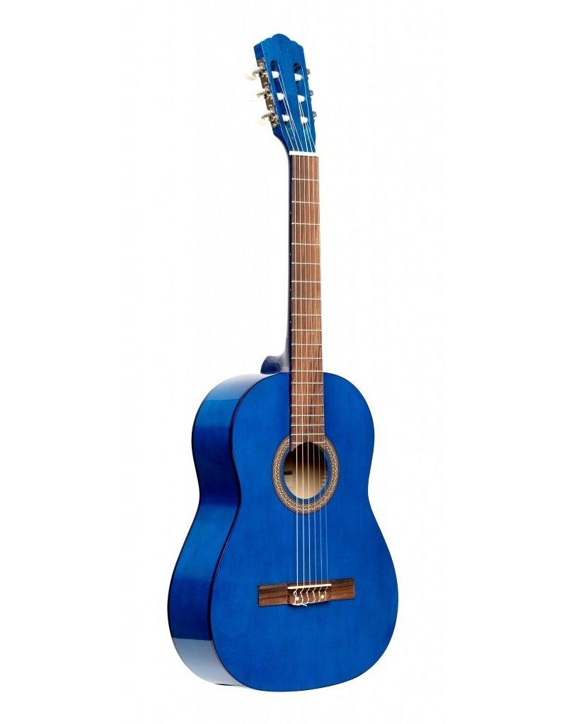 Stagg SCL50 1/2 BLUE Klassiek gitaar blauw