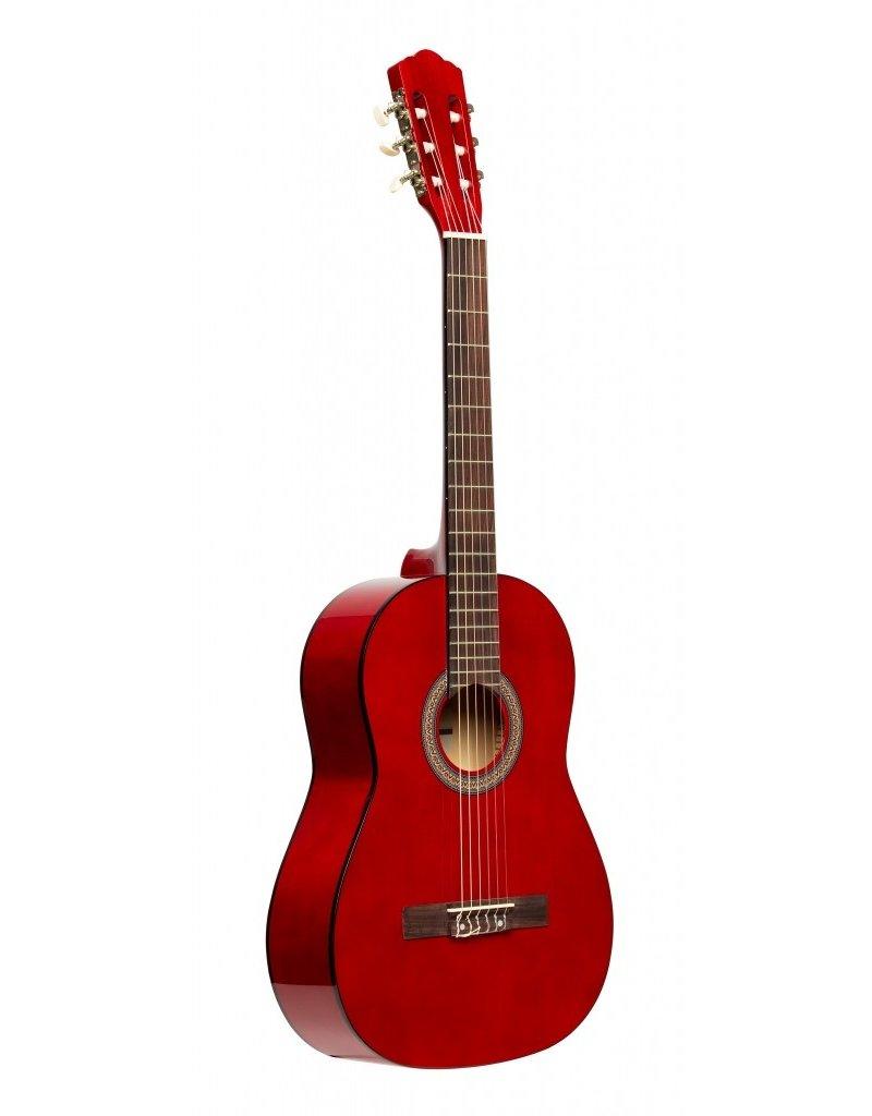 Stagg SCL50 1/2 RED Klassiek gitaar rood