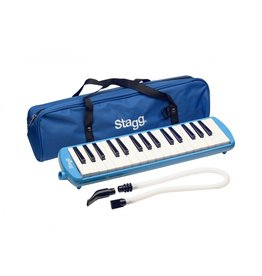 Stagg Melodica 32-tonen blauw