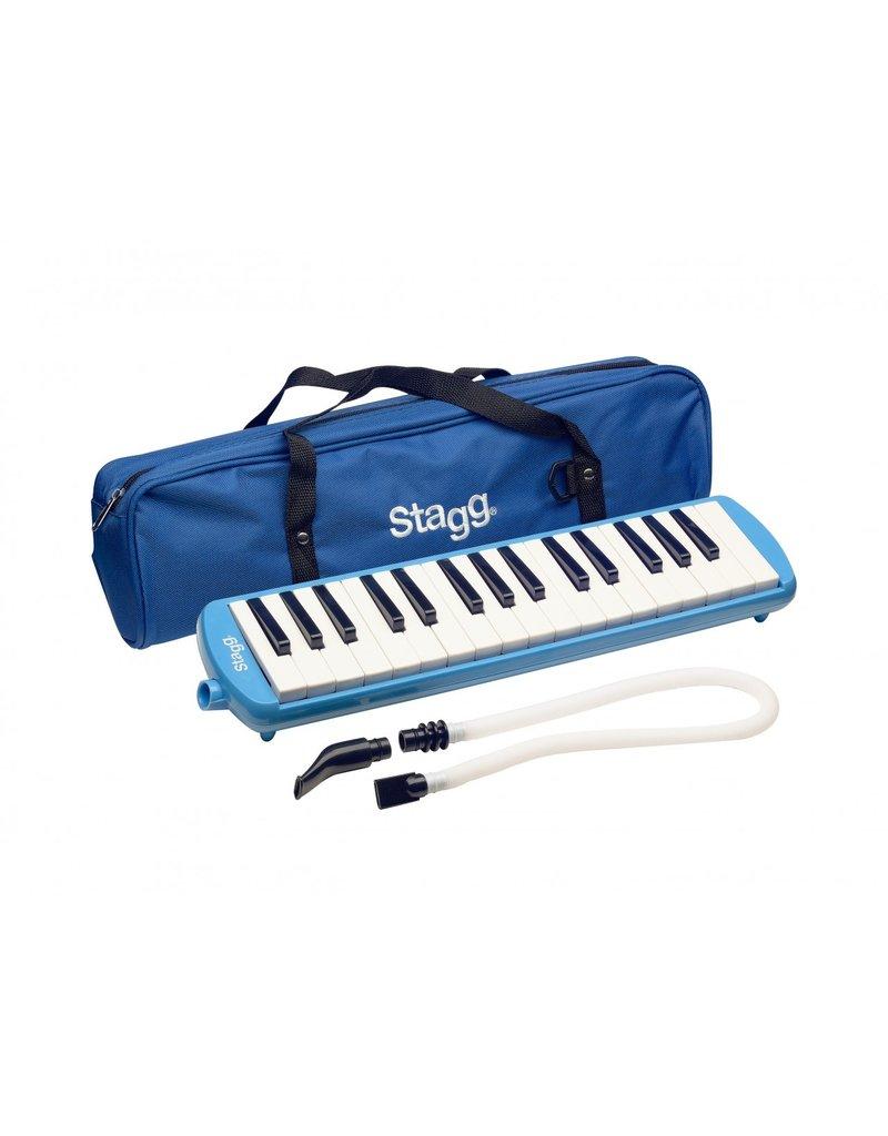 Stagg Melosta32 BL melodica 32-tonen blauw