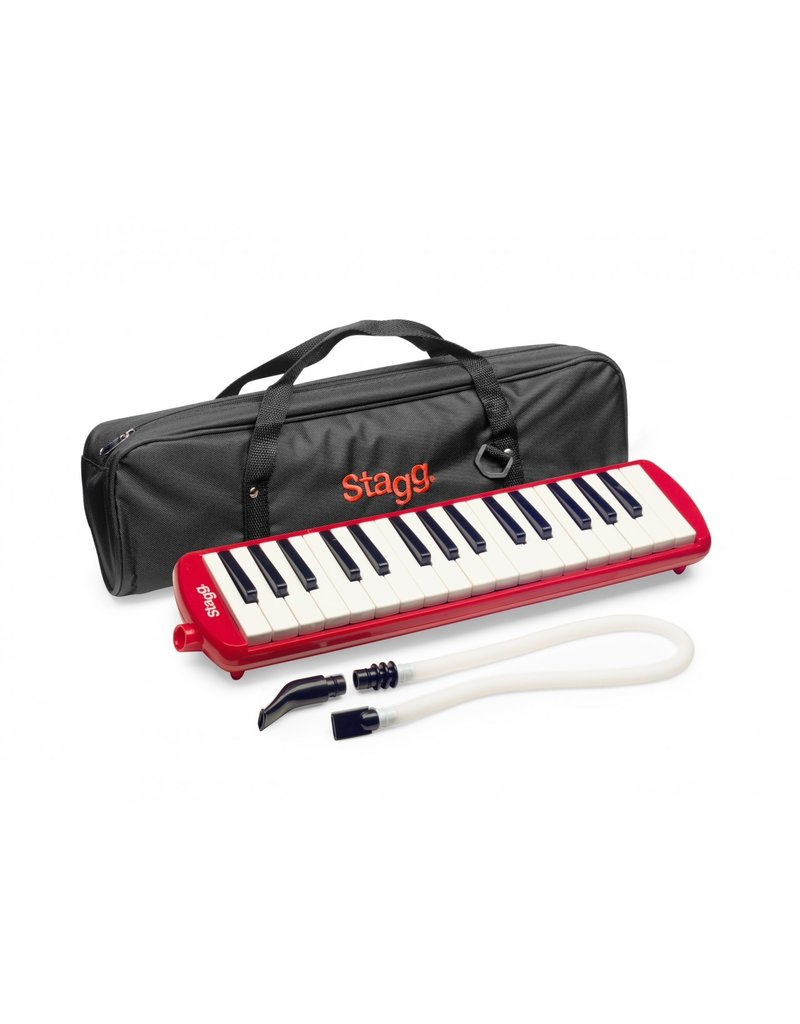 Stagg Melosta32 RD melodica 32-notes red
