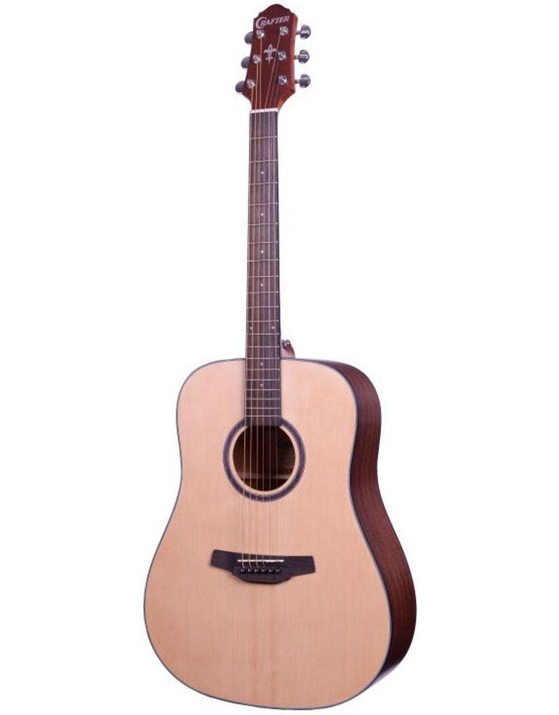 Crafter HD100 Akoestische gitaar naturel
