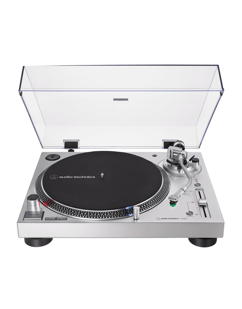Audio Technica AT-LP120XUSB Zilver Direct-Drive platenspeler