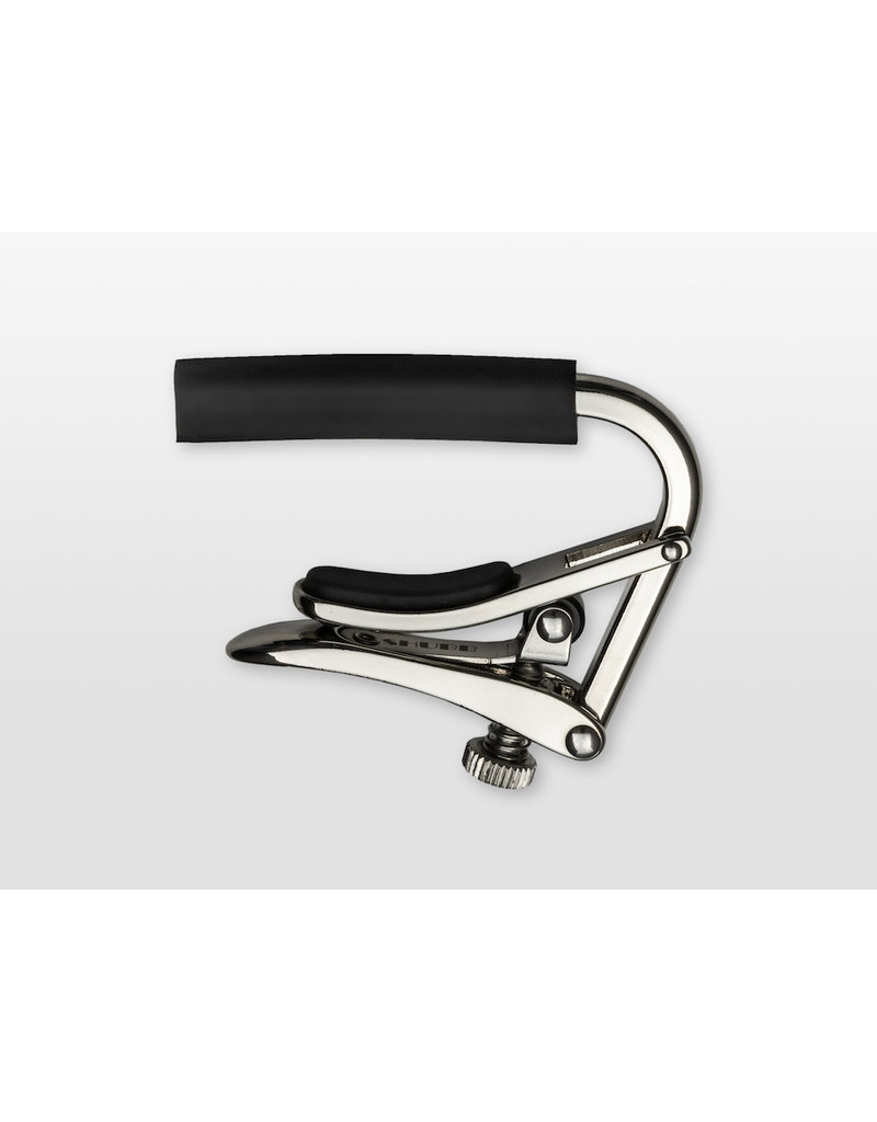Shubb C1 curved capo for acoustic guitar nickel