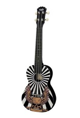 Korala PUC-30-002 Polycarbonate concert ukulele Skull Eagle
