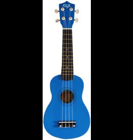 CLX Music Calista 21 sopraan ukelele blauw