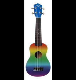 CLX Music Calista 21 sopraan ukelele rainbow air