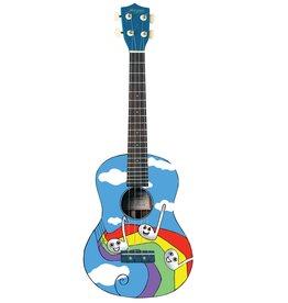 Morgan UKS100 Rainbow sopraan ukelele