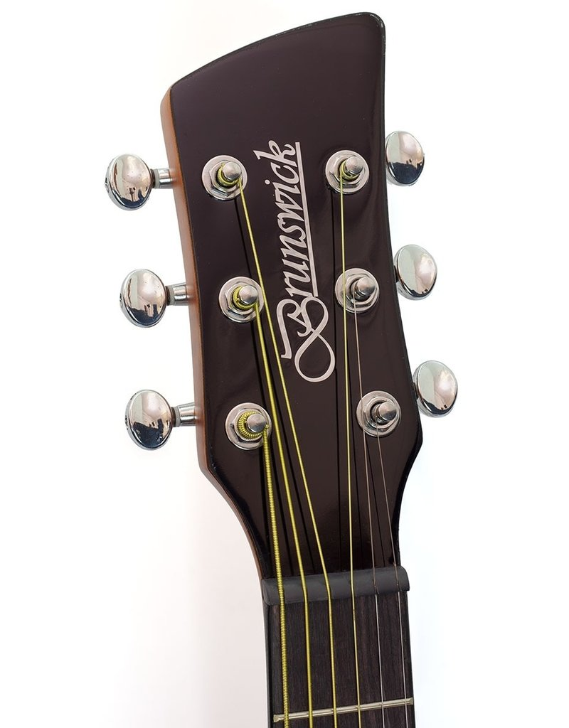 Brunswick BP200 TB Akoestische gitaar tobacco burst