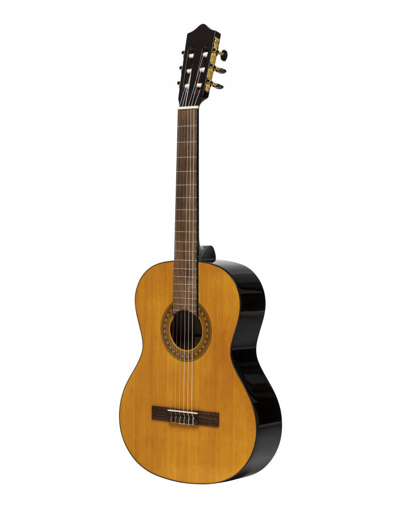 Stagg SCL60-NAT LH linkshandige klassieke gitaar