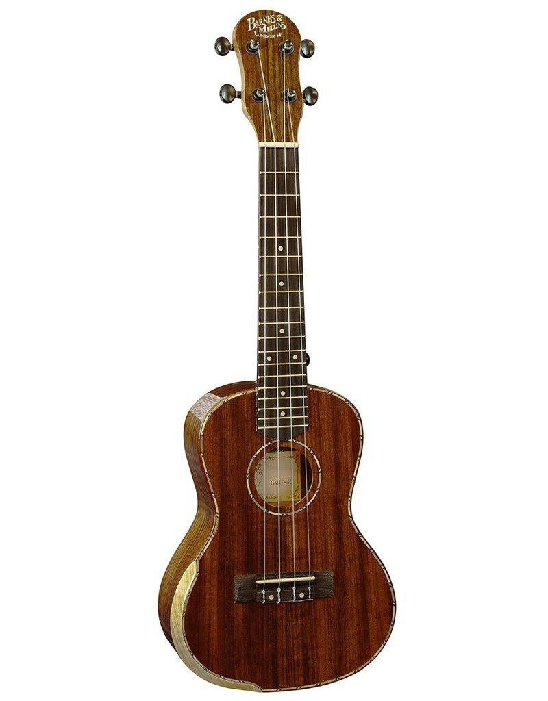 Barnes & Mullins BMUK5C Concert  ukulele Walnut