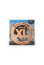 D'addario EXL115W medium gauge electric guitar strings with wound G