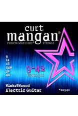 Curt Mangan 10942 electric guitar strings 009-042