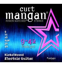 Curt Mangan 10942 elektrische gitaar snaren 009-042