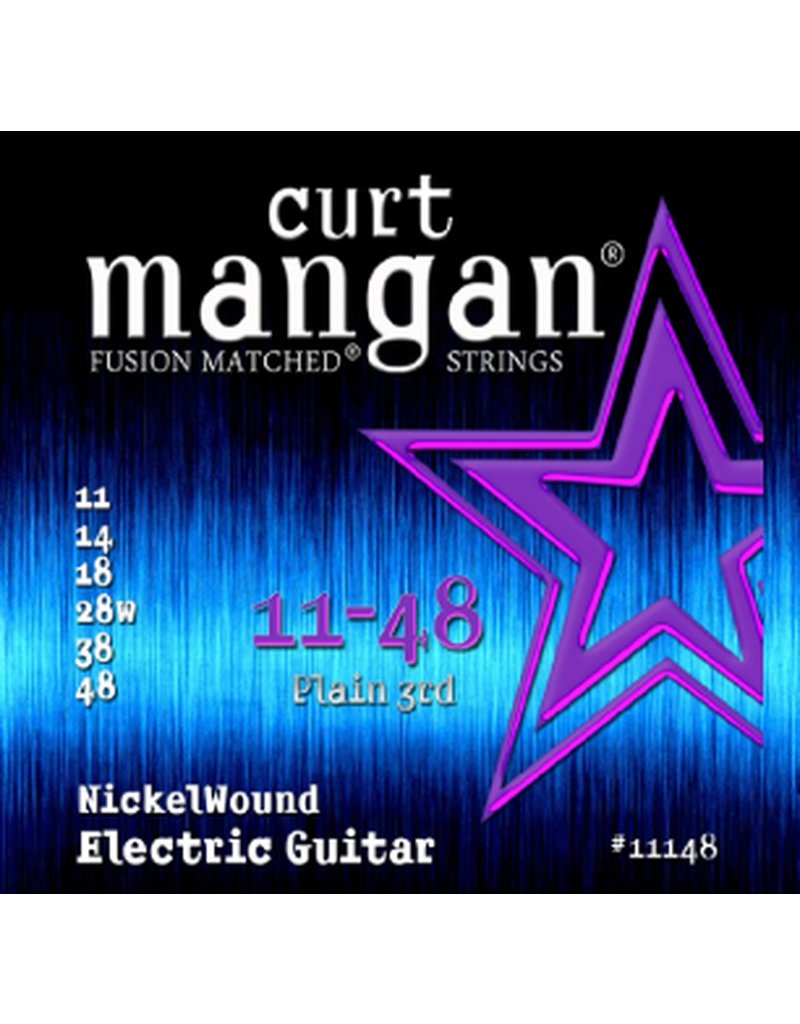 Curt Mangan 11148 elektrische gitaar snaren 011-048