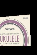 D'addario EJ99SC sopraan/concert ukelele snaren