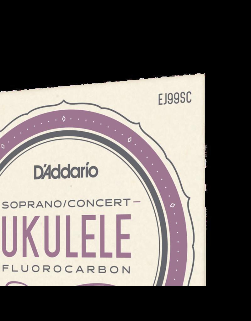 D'addario EJ99SC soprano/concert ukulele strings