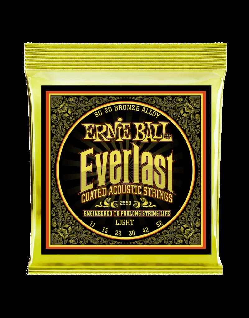 Ernie Ball 2558 Everlast Light 80/20 bronze 11-52