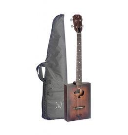 J.N. Guitars CASK-FIRKIN Cigar box guitar