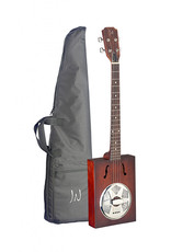 J.N. Guitars CASK-PUNHEON Cigar box resonator gitaar