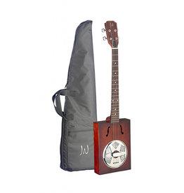 J.N. Guitars CASK-PUNHEON Cigar box resonator gitaar