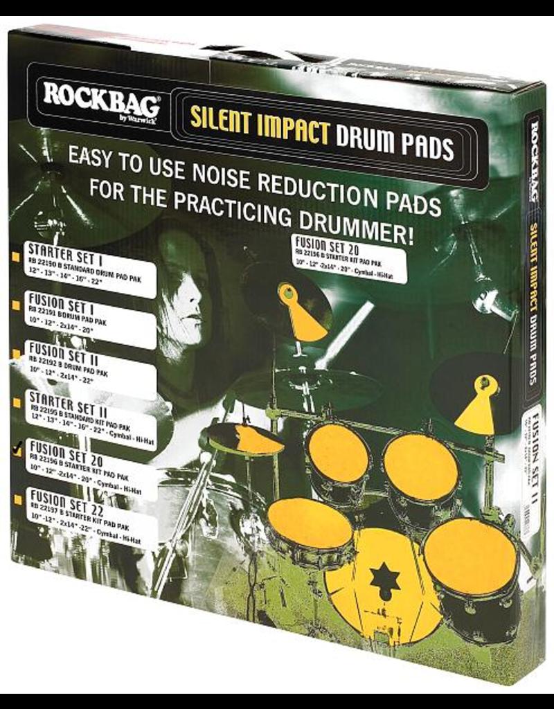 Rockbag Silent impact fusion set 1 noise reduction pads