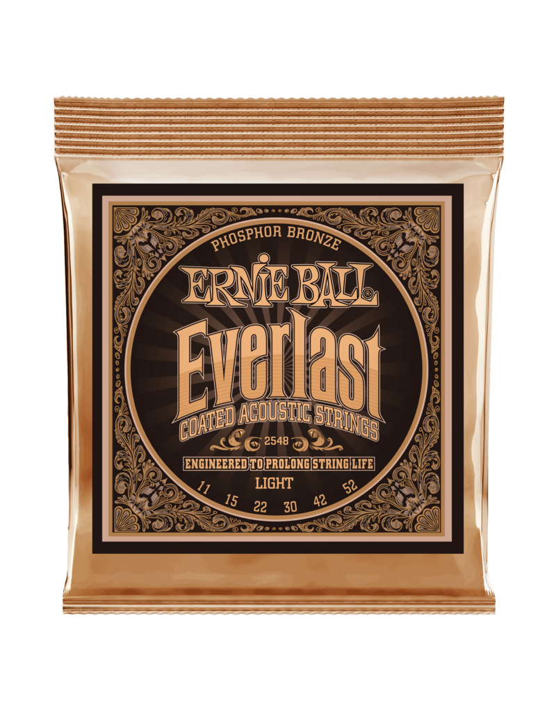 Ernie Ball 2548 Everlast Light Phosphor  bronze 11-52